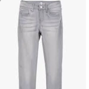 7 For All Mankind Slimmy Light Gray Jeans